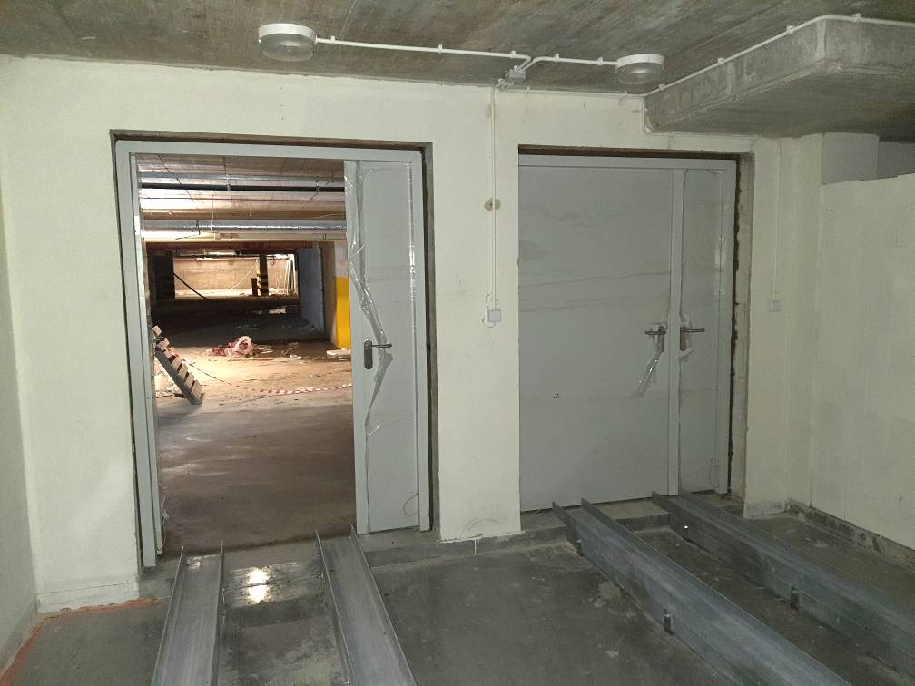 Drzwi stalowe do trafostacji