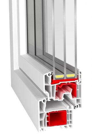 Aluplast Ideal 4000 dla pakietów szybowych o szerokości 48 mm