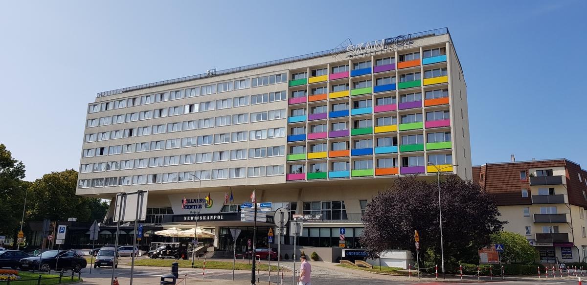 Okna dla Skanpol Kołobrzeg