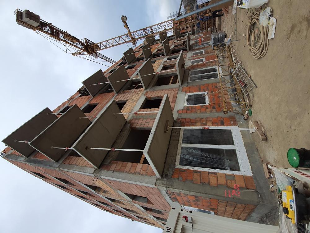 Okna Martom Aluplast 7000 - Poznań ulica Dymka przy Lidlu