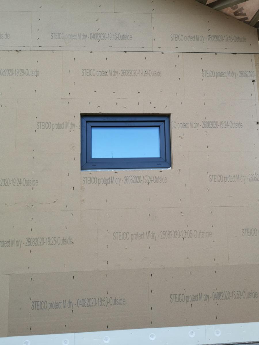 Okna PVC do domów drewnianych